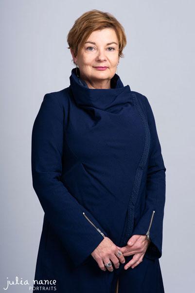 Melbourne personal branding corporate portrait of woman standing in studio