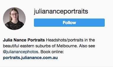 Julia Nance Social Media
