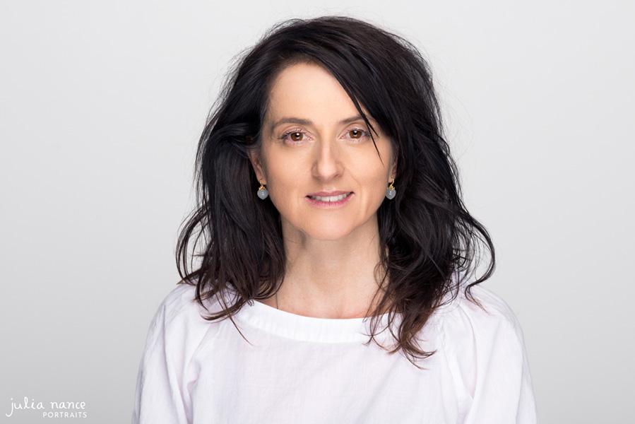 Melbourne Corporate Headshot - Studio Headshot Photography - Woman on white background