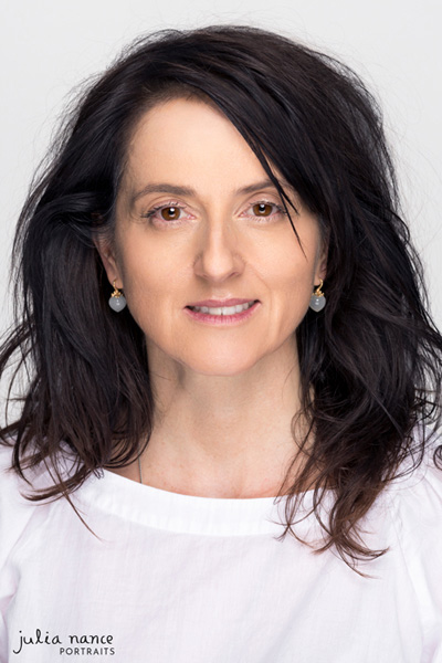 Melbourne Corporate Headshot - Studio Headshot Photography - Woman on white studio background