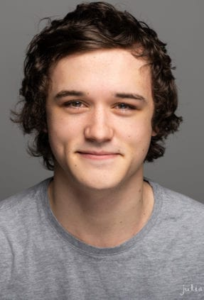 Melbourne acting headshot of actor Jayden Denke